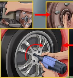 how to change wheel bearings 12 steps with pictures wikihow 2000 lincoln town car front wheel bearing diagram [ 1200 x 900 Pixel ]