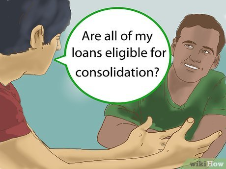 Loans consolidation