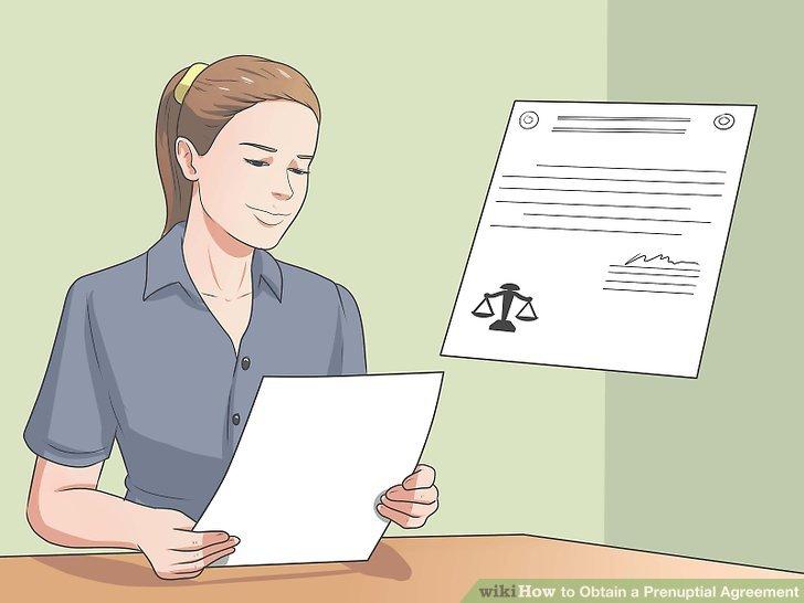 Entscheiden Sie, wie lange der Ehevertrag dauern soll.