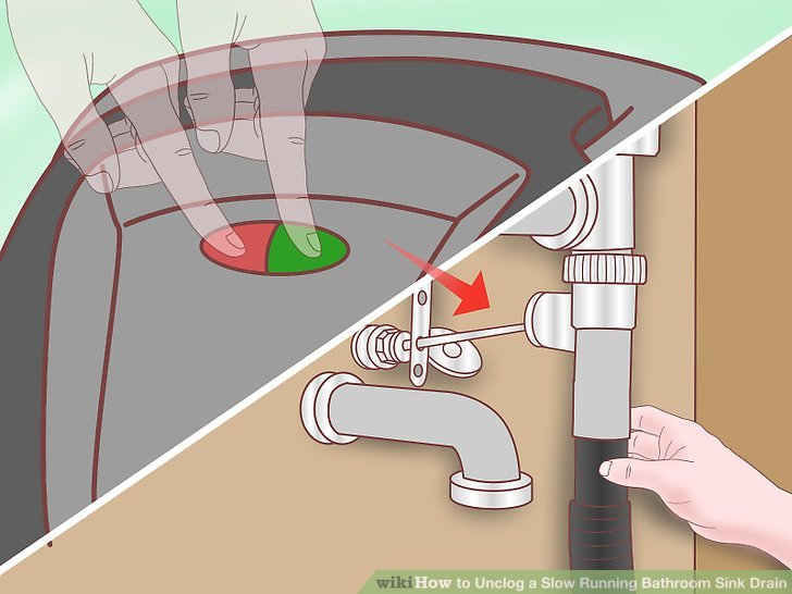 Simple Ways to Unclog a Bathroom Sink  wikiHow