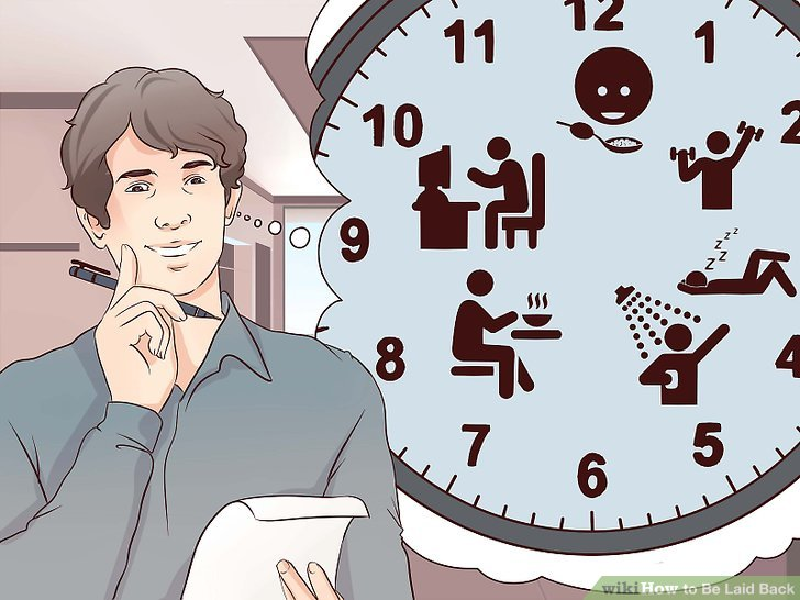 3 Ways to Be Laid Back - wikiHow