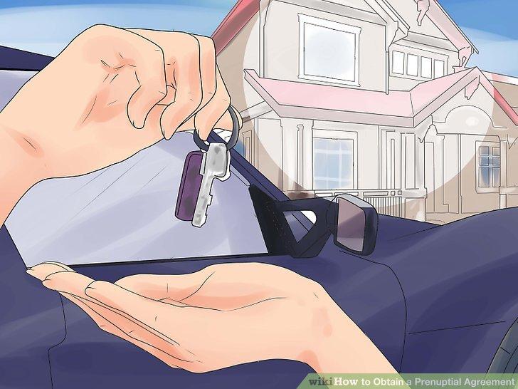 Geben Sie eine detaillierte Beschreibung jedes Vermögenswerts in Ihrem Ehevertrag.