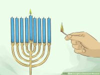 How to Light a Chanukah Menorah: 15 Steps (with Pictures)