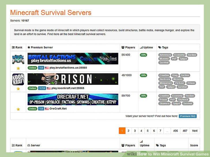 Wie Ist Es Gemacht How To Win Minecraft Survival Games - Minecraft spieler finden hack