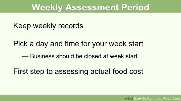 Wählen Sie ein Datum, das für Sie jede wöchentliche Bewertungsperiode beginnt.
