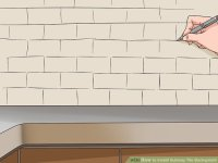 Install Subway Tile