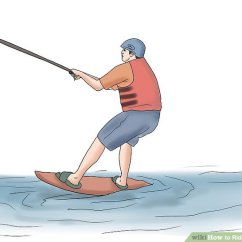Hydro Chair Water Ski Slip Covers How To Ride An Air With Pictures Wikihow Image Titled Step 14