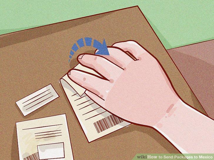 Entfernen Sie frühere Etiketten oder verdunkeln Sie alte Details mit einem permanenten Marker.
