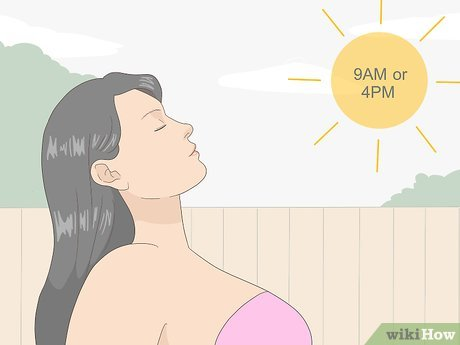 3 Ways to Tan when It's Cloudy - wikiHow