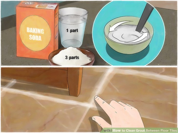 Make a paste of baking soda and water.