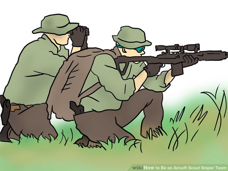 Understand a sniper is not a lone wolf.