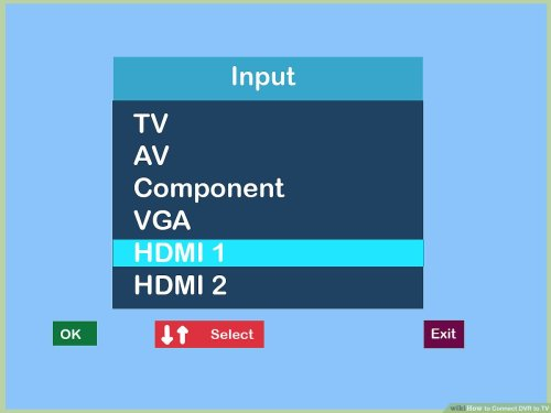 small resolution of how to connect dvr to tv