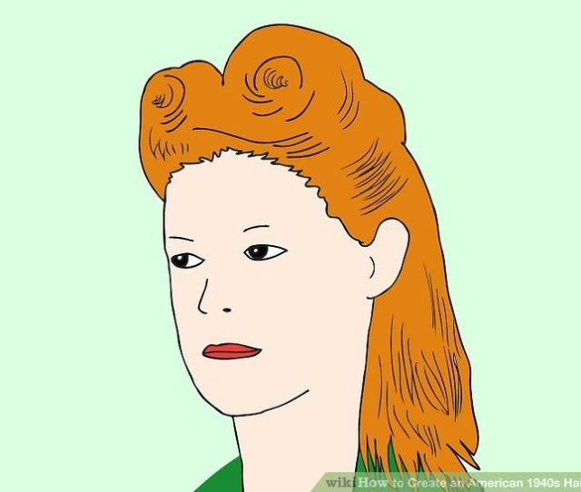 Image Titled Create An American S Hairstyle Step