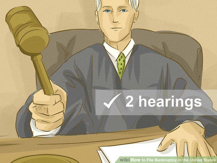 An zwei Anhörungen teilnehmen.