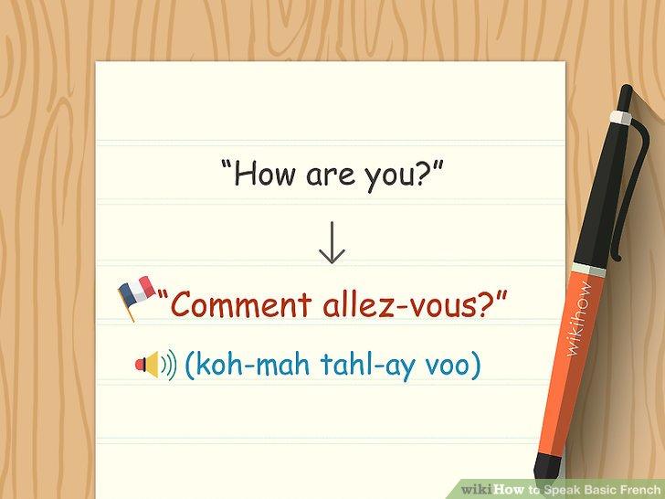 """Erfahren Sie, wie Sie auf Französisch nach dem Wort """"Wie geht es Ihnen?"""" Fragen und antworten können."""