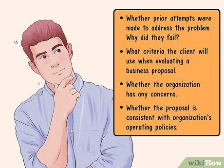 Business proposal examples