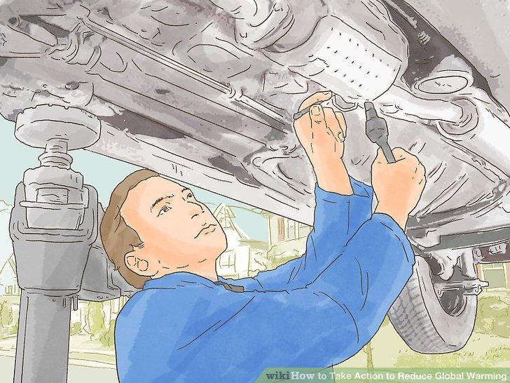 Pflegen Sie Ihr Auto.
