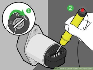 3 Ways to Check an Idle Air Control Valve  wikiHow