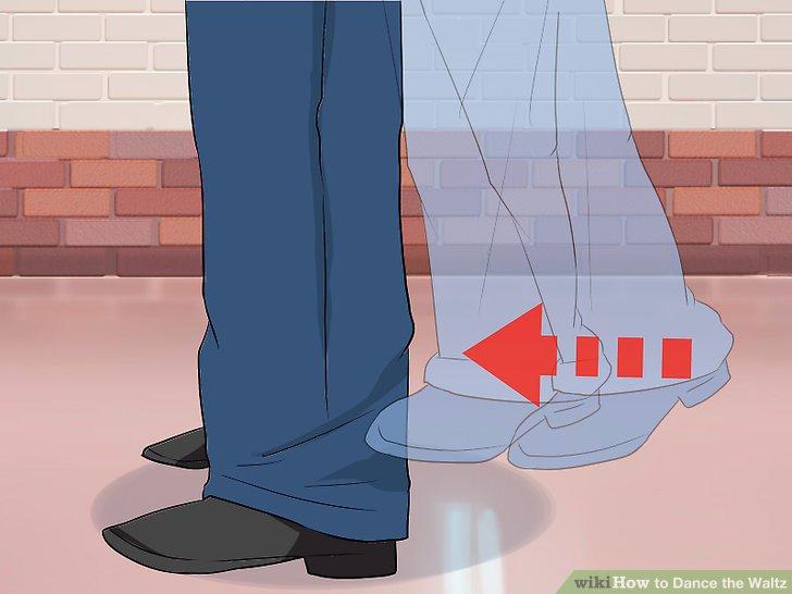 Gehen Sie mit Ihrem rechten Fuß nach vorne, sodass er parallel zu Ihrem linken Fuß ist.