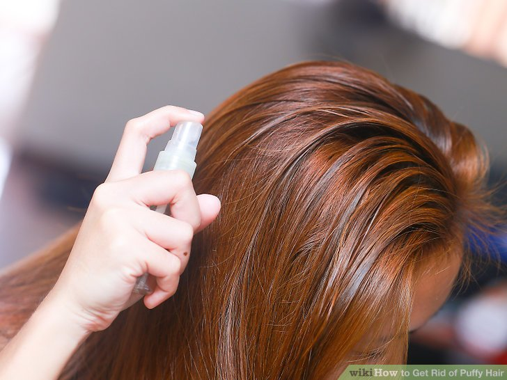 4 Ways To Get Rid Of Puffy Hair WikiHow