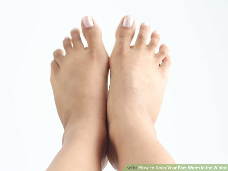 If your feet are still cold you should see you doctor if he/she has any tips.