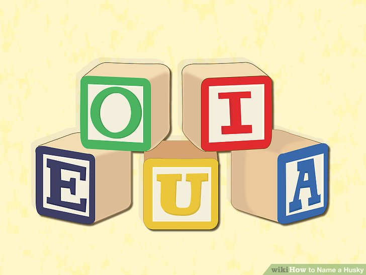 Consider names that end in a vowel sound.
