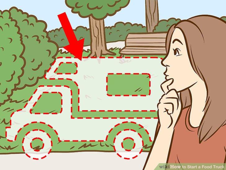 Finden Sie einen Ort, an dem Sie Ihren Lkw parken können.