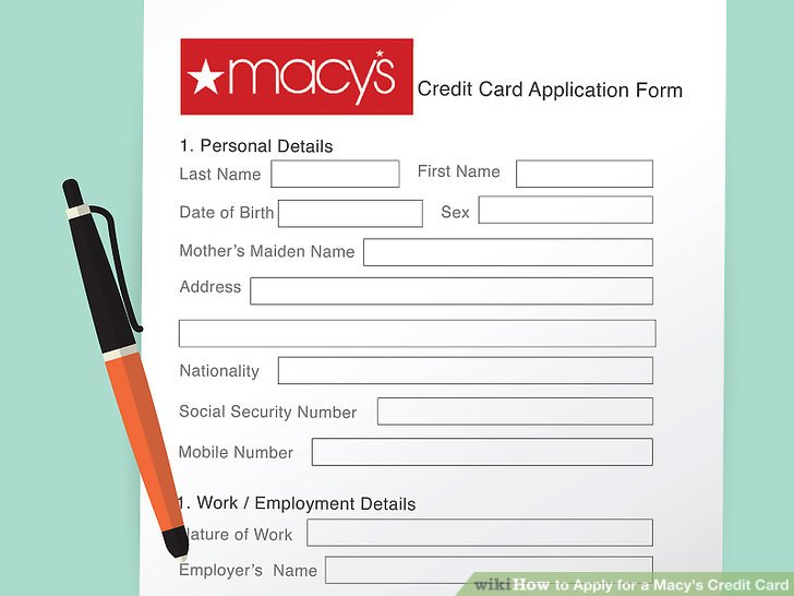 How to Apply for a Macy's Credit Card: 13 Steps (with Pictures)