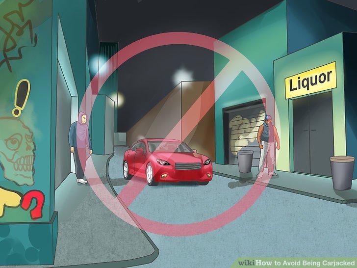 Vermeiden Sie Krisenherde und Fahren in unbekannten Bereichen.