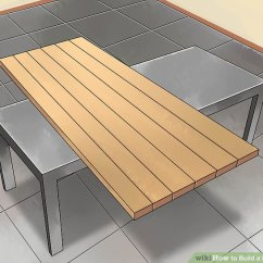Build Kitchen Table Planner How To A With Pictures Wikihow Image Titled Step 2