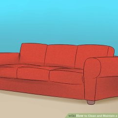 Suede Sofa Fabric Bb Italia Price 4 Ways To Clean And Maintain A Couch Wikihow Image Titled Step 5