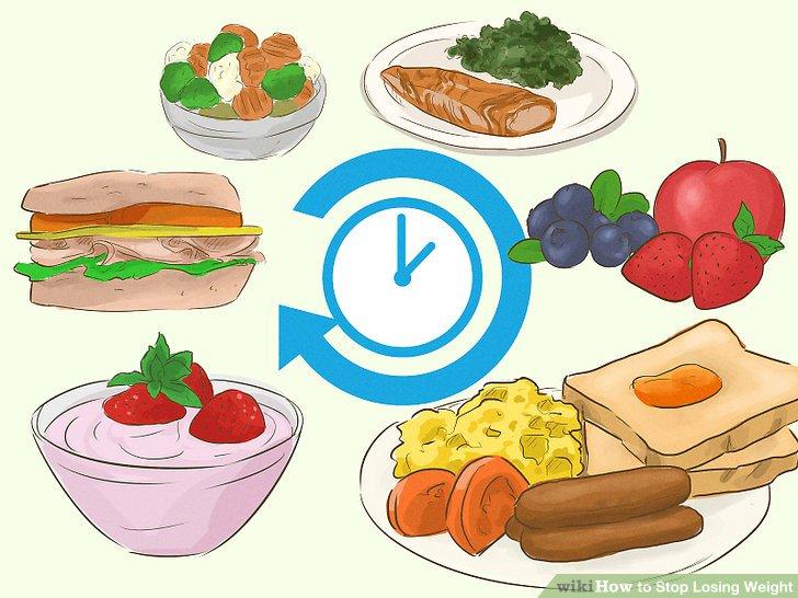 Essen Sie den ganzen Tag öfter.