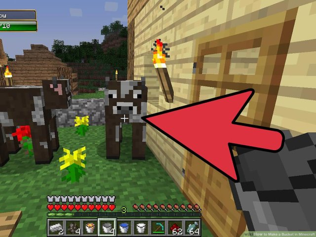 How to Make a Bucket in Minecraft: 21 Steps (with Pictures)
