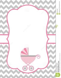 How to Make a Baby Shower Invitation Template Using ...
