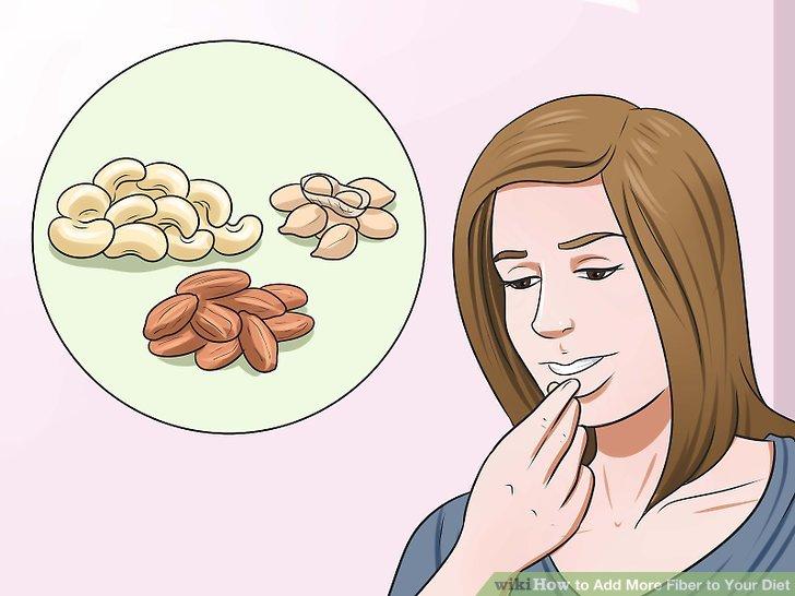 Essen Sie mehr Samen, Nüsse und Hülsenfrüchte.