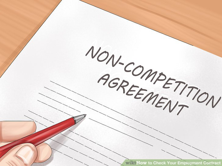 Determine whether your contract contains a non-compete clause.