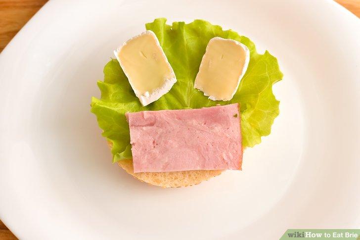 Legen Sie es auf ein Sandwich.