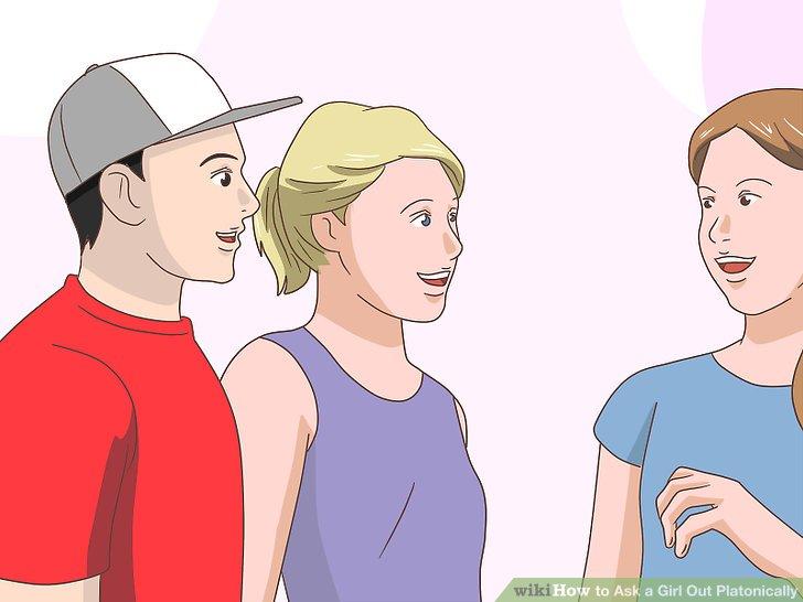 Erwähnen Sie, wenn Sie einen haben, Ihren Lebensgefährten, um zu zeigen, dass Sie nicht an Dating interessiert sind.