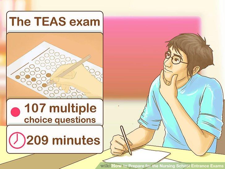 Prepare for the TEAS exam.