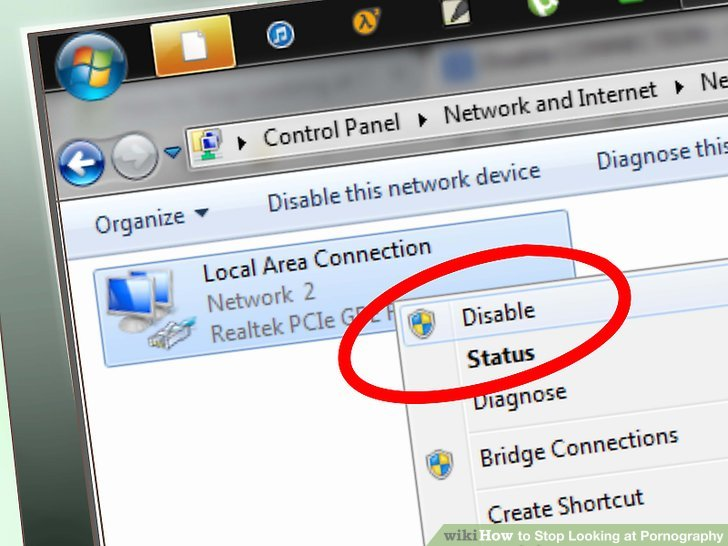 Disable your internet access whenever possible.