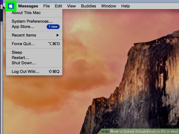 Click the Apple menu.