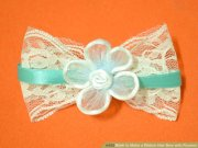 3 ways make ribbon hair bow