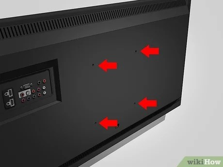 how to wall mount an lcd tv 9 steps