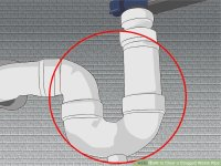 3 Ways to Clear a Clogged Waste Pipe - wikiHow