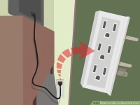 How to Hide an Electrical Cord: 9 Steps (with Pictures ...