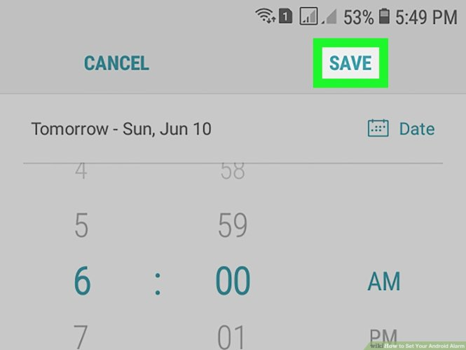 How To Set Your Android Alarm 14 Steps