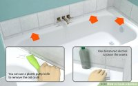 How to Caulk a Bathtub: 10 Steps (with Pictures) - wikiHow