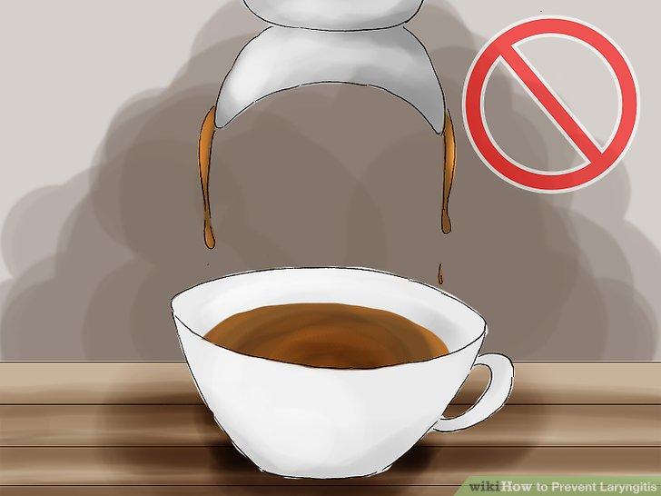 Begrenzen Sie koffeinhaltige Getränke.