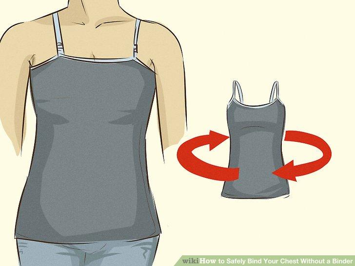 Setzen Sie das Hemdchen nach hinten auf.