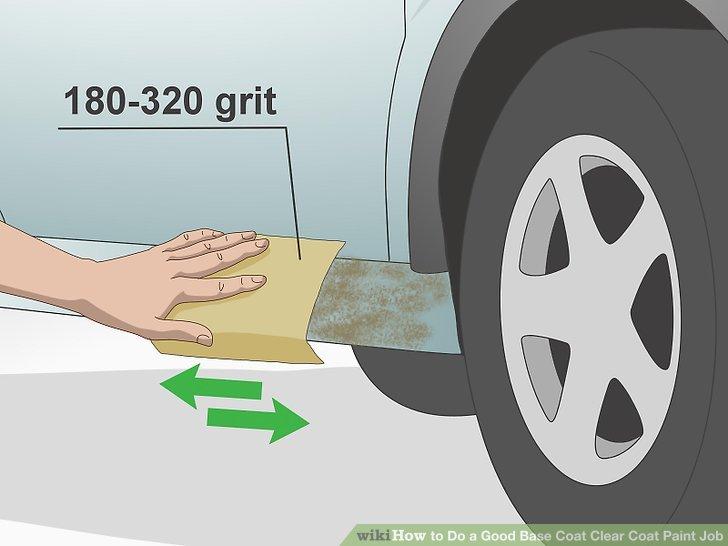 Herhangi bir pas lekesini veya çizikleri 180-320 numara zımpara kağıdı ile zımparalayın.